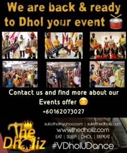 Let's dhol your event!!!